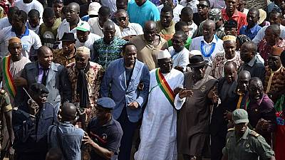 Mali police fire teargas to break up banned opposition march