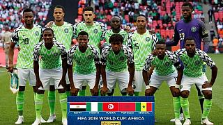 Nigerians mocked over 'beautiful jersey' following 2-1 loss to England