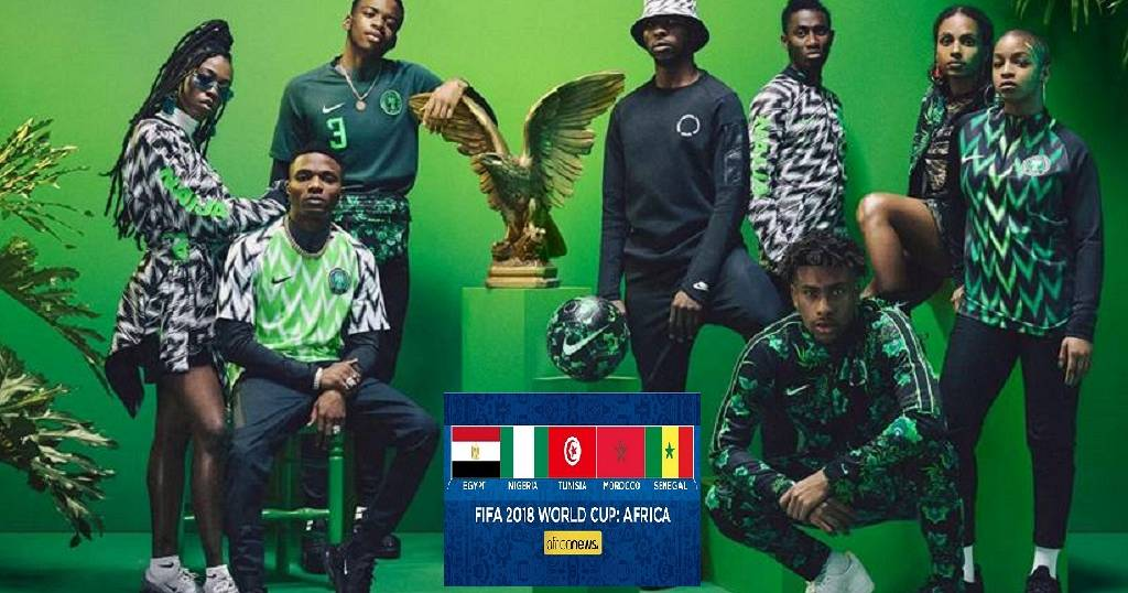 Nigerians celebrate World Cup theme song featuring Davido
