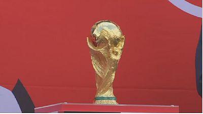 Mondial 2018 : Moscou accueille le trophée à quelques jours du coup d'envoi