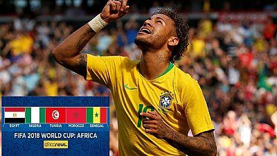 Mondial-2018/Amical : Neymar revient et réveille le Brésil face à la Croatie