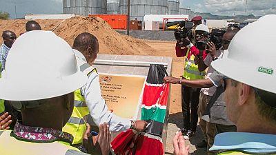 [Photos] Kenyatta flags off Kenya's first oil export scheme