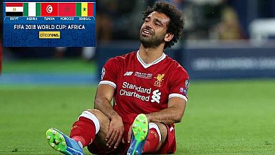 Egypt gamble on Salah's fitness, name him in final World Cup squad