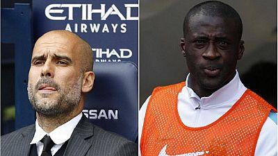Manchester City : Yaya Touré règle ses comptes avec Pep Guardiola