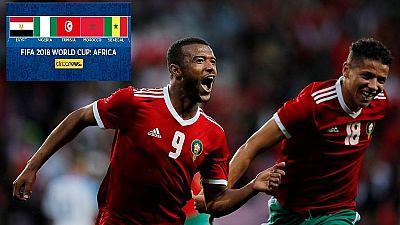 Mondial 2018 en Russie : belle prestation du Maroc face à la Slovaquie