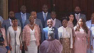 La chorale du mariage royal fait des vagues