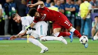 Real's Ramos denies malice on Salah injury