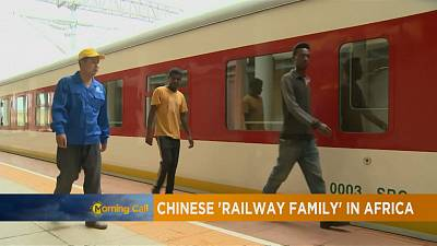Chinese 'railway family' in Africa