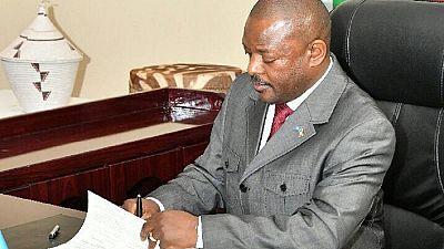Burundi : le président Nkurunziza promulgue la nouvelle Constitution