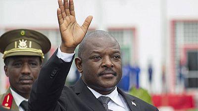 Burundi president says he will not seek new term