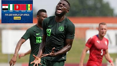 Nigeria, Egypt lose World Cup warm up games