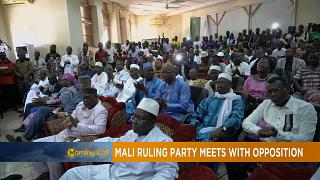 Mali's ruling party and opposition leaders meet, calm tension