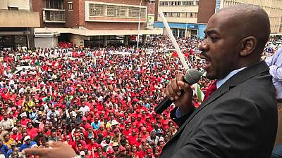 Zimbabwe's MDC party promises to revive ailing economy if it wins election