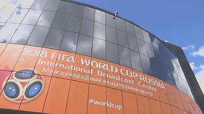 Broadcasting centre for World Cup opens in Moscow