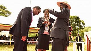 Museveni honours Ethiopia PM with Uganda's highest national accolade