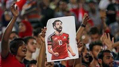 Salah's Egypt arrive in Russia, ahead of opener against Uruguay