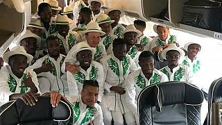 [Photos] Nigeria makes fashionable entrance in Russia