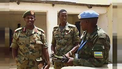 UN to halve its joint AU peacekeeping force in Darfur