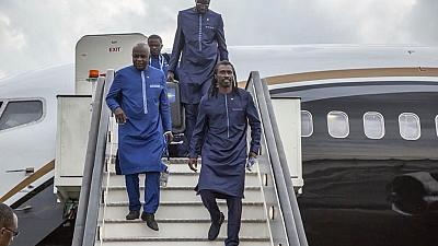 [Photos] Traditionally dressed Senegal arrives in Russia