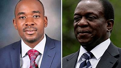 Mnangagwa, Chamisa register for first post-Mugabe election