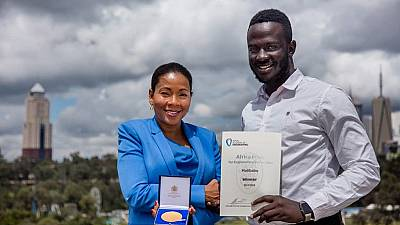 Ugandan wins Africa prize for developing bloodless malaria test