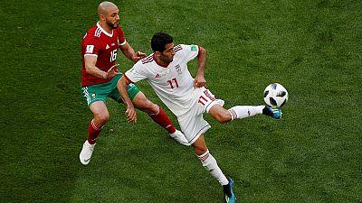 Mondial 2018 - Jour 2 : victoire de l'Iran (1-0) devant le Maroc dans le groupe B