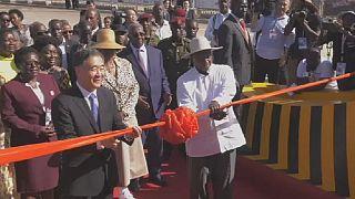 Uganda: Museveni inaugurates 51-km four lane freeway built by China