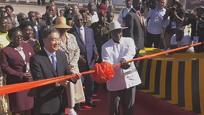 Uganda: Museveni inaugurates 51-km four lane freeway built by China
