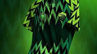 Russia 2018: Nigeria's loudest cheerleader AS Roma curates 'most beautiful jersey'