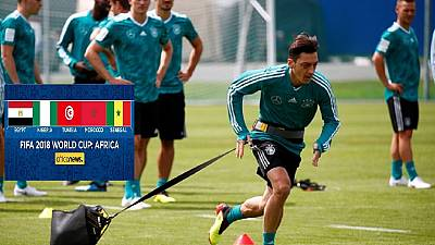 Germany's Ozil fit for their World Cup opener v Mexico: coach