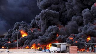 Second fire shrinks storage capacity amid fighting at Libyan oil ports