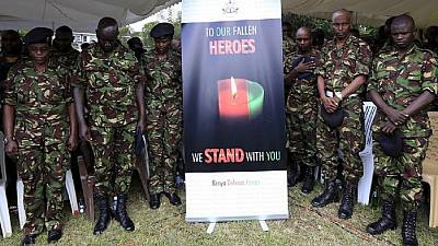 Eight Kenyan police officers killed in Al Shabaab explosive device attack