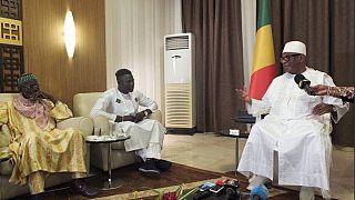 Tête-à-tête à Bamako entre le président malien et Mamoudou Gassama