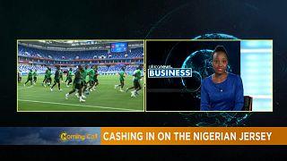 Coupe du monde: excitation autour du maillot nigérian