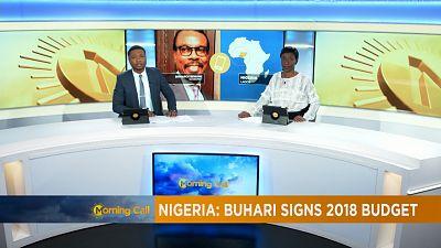 Nigeria's President Muhammadu Buhari signs 2018 budget into law