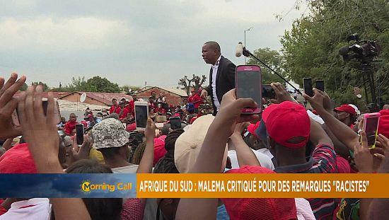 """Afrique du sud : Malema critiqué pour des remarques """"racistes"""" [The Morning Call]"""
