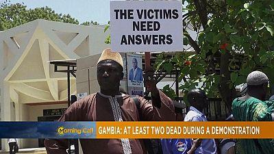 Gambie : démission du chef de la police après la mort de trois manifestants