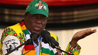 Zimbabwe president suggests he was target of Zanu-PF rally blast