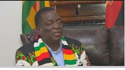 Zimbabwe : ''Mnangagwa pas affecté par l'explosion''