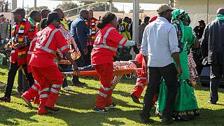 Zimbabwe police says 49 people injured in Bulawayo blast