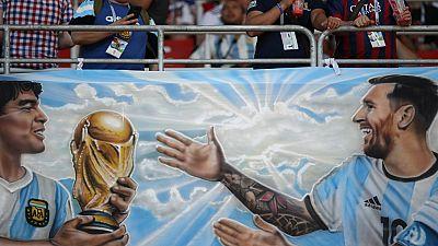 """[Petite histoire du Mondial] Une """"main divine"""" sauvera-t-elle cette fois l'Argentine ?"""