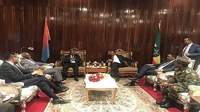 Ethiopia PM receives Eritrean delegation, says 'visit is foundation for brighter future'