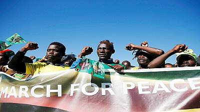 Zimbabwe's political parties pledge to hold peaceful rallies
