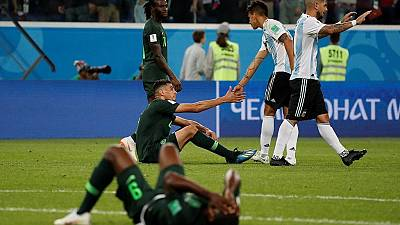 Nigerian fans react to loss to Argentina and elimination from World Cup