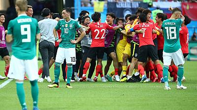 Defending champions Germany knocked out of World Cup after shock loss to Korea