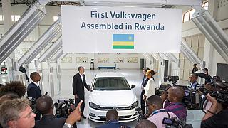 Rwanda's first domestically built car plant