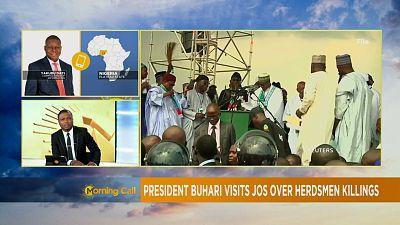 Nigeria: Buhari tasks regional leaders on peace [The Morning Call]