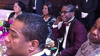 Anniversaire carnavalesque pour les 49 ans de Teodoro Obiang