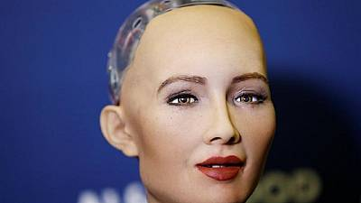 Sophia the robot misses dinner with Ethiopia PM after losing some parts at German airport