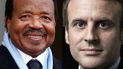 Attentat au mali: Macron  et  Biya condamnent